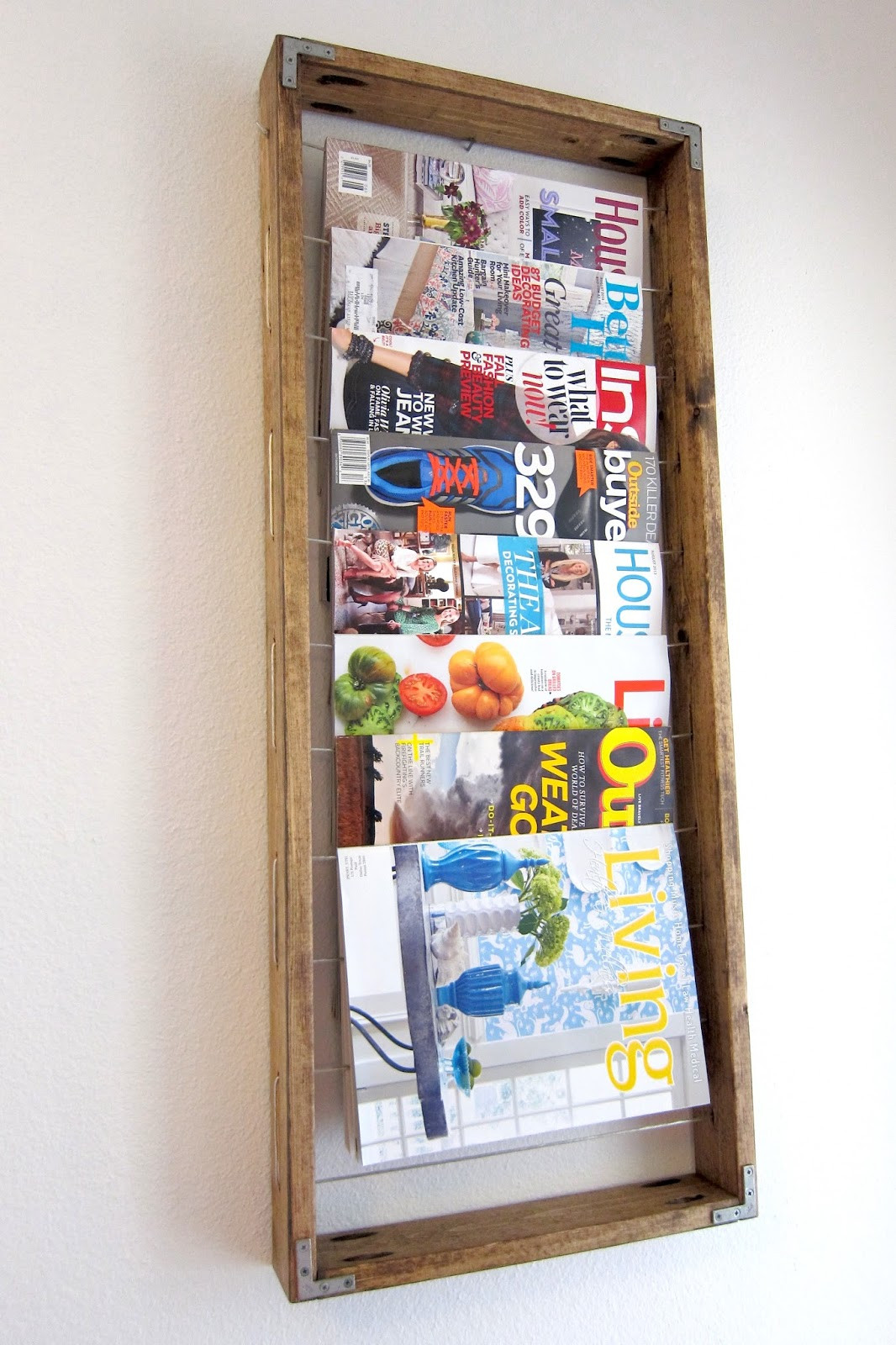 Best ideas about DIY Magazine Rack . Save or Pin Inspired Whims DIY Magazine Rack Now.