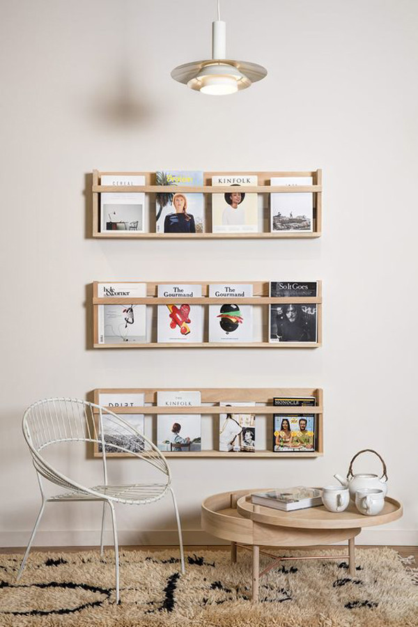 Best ideas about DIY Magazine Rack . Save or Pin 15 Genius DIY Magazine Rack Ideas Now.