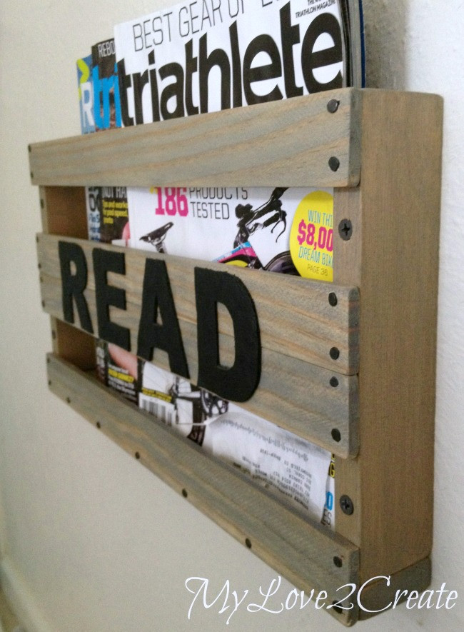 Best ideas about DIY Magazine Rack . Save or Pin DIY Magazine Rack Now.