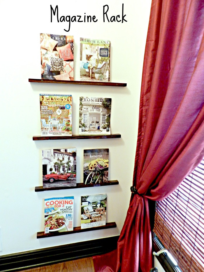 Best ideas about DIY Magazine Rack . Save or Pin DIY Magazine Rack Redhead Can Decorate Now.