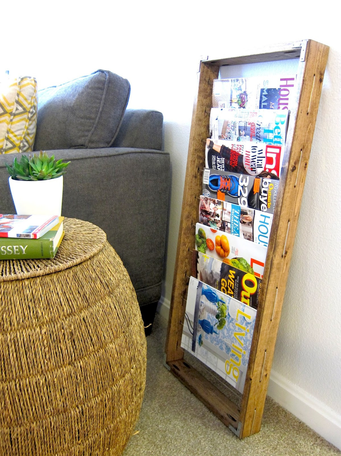 Best ideas about DIY Magazine Rack . Save or Pin Interesting Things to Know about What is Called Wall Now.