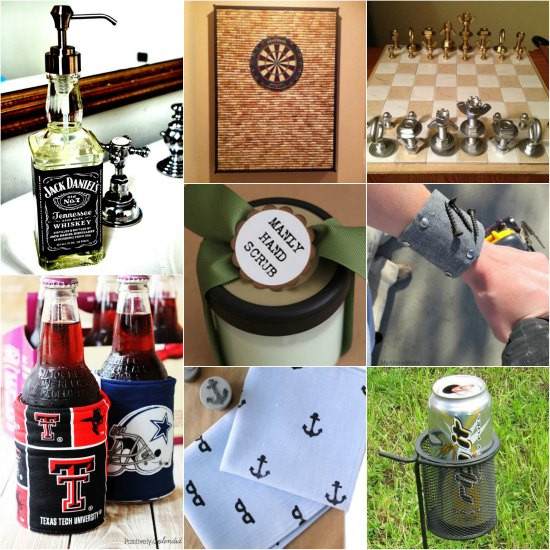 DIY Man Gifts  15 DIY Gifts For Men Prepare Now For The Holidays