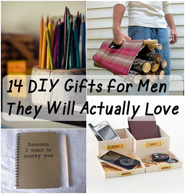 DIY Man Gifts  DIY Gifts Your Man Would Love to Receive AllDayChic