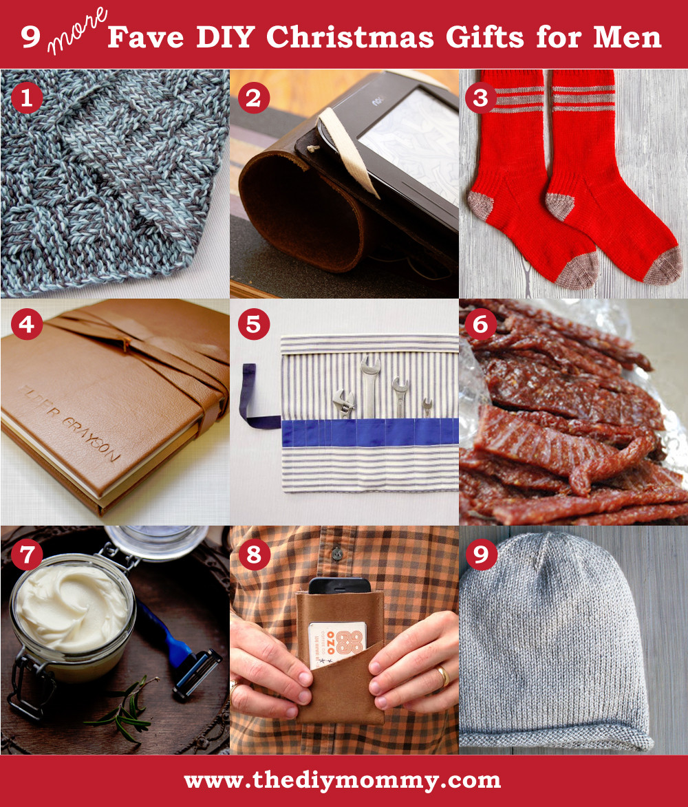 DIY Man Gifts  A Handmade Christmas More DIY Gifts for Men
