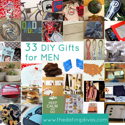 DIY Man Gifts  DIY Gift Ideas for Your Man