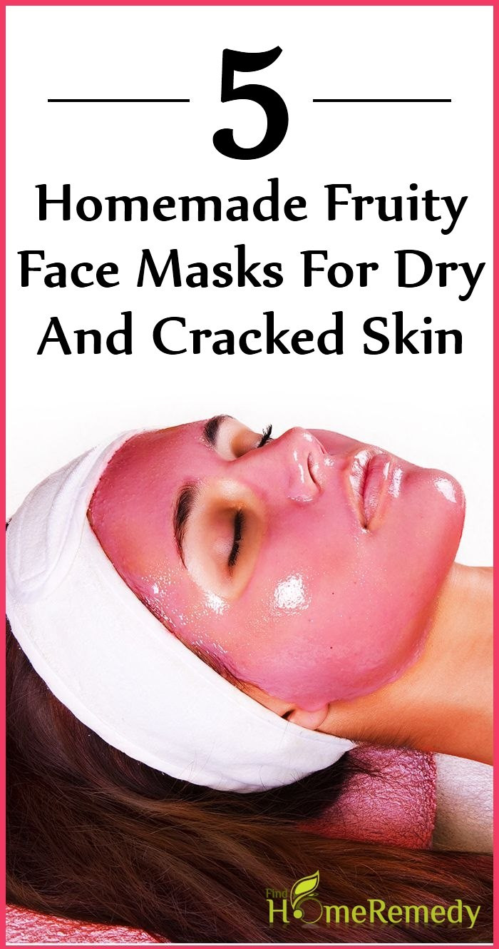 Best ideas about DIY Masks For Dry Skin . Save or Pin 5 Homemade Fruity Face Masks For Dry And Cracked Skin Now.