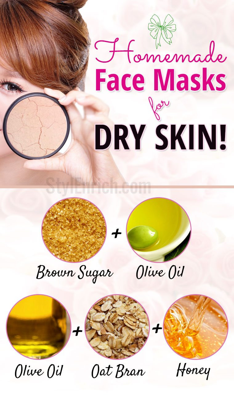 Best ideas about DIY Masks For Dry Skin . Save or Pin Homemade Masks for Dry Skin Dry Skin Care Tips Now.