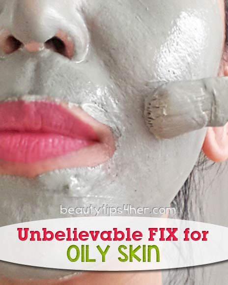 DIY Masks For Oily Skin  Unbelievable Fix for Oily Skin DIY Green Clay Mask