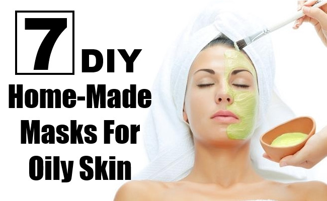DIY Masks For Oily Skin  7 DIY Home Made Masks For Oily Skin