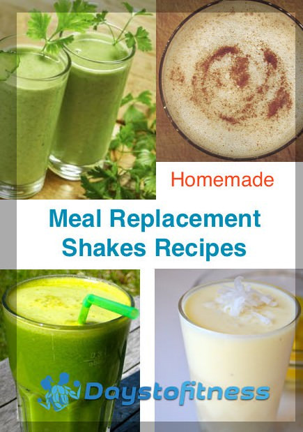 Best ideas about DIY Meal Replacement Shakes . Save or Pin Homemade Meal Replacement Shakes Recipes Now.