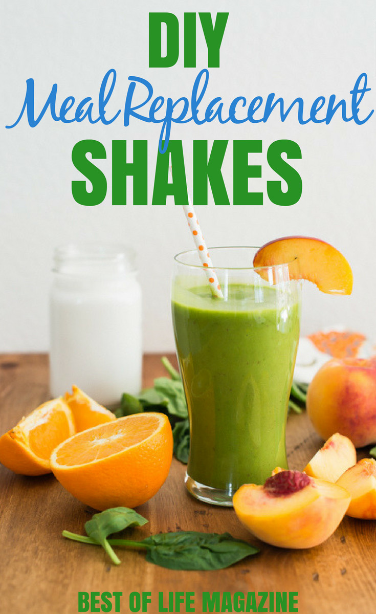 Best ideas about DIY Meal Replacement Shakes . Save or Pin DIY Meal Replacement Shakes for Weight Loss Best of Life Now.