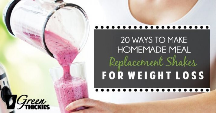 Best ideas about DIY Meal Replacement Shakes . Save or Pin 20 Ways to Make Homemade Meal Replacement Shakes for Now.