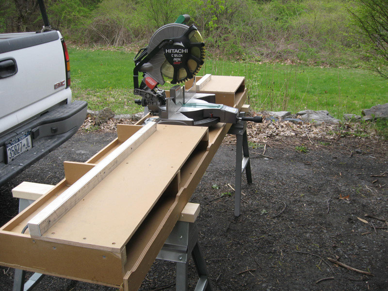 Wondrous Best 20 Diy Miter Saw Table Best Collections Ever Home Ncnpc Chair Design For Home Ncnpcorg