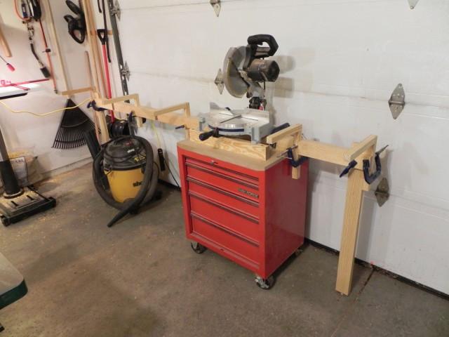 DIY Miter Saw Table  Diy Miter Saw Stand
