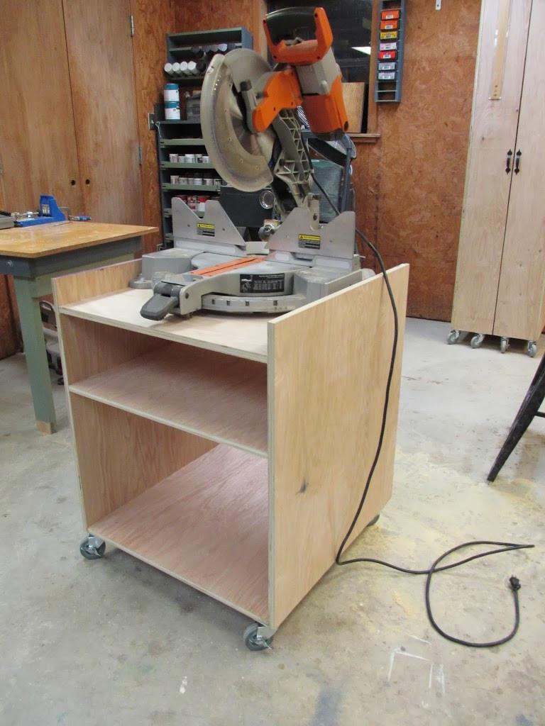 DIY Miter Saw Table  DIY Miter Saw Stand Wilker Do s
