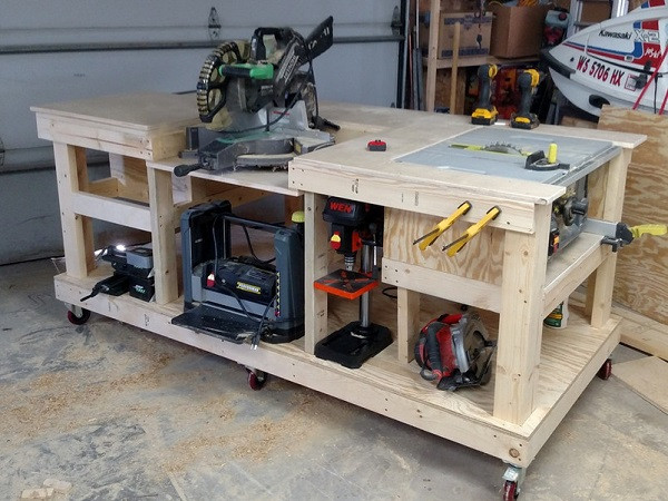 DIY Miter Saw Table  DIY Miter Saw Stand A Beginners Guide