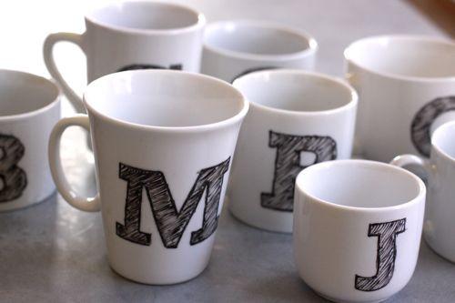DIY Mug Designs  10 DIY hand painted mugs a great t for everyone