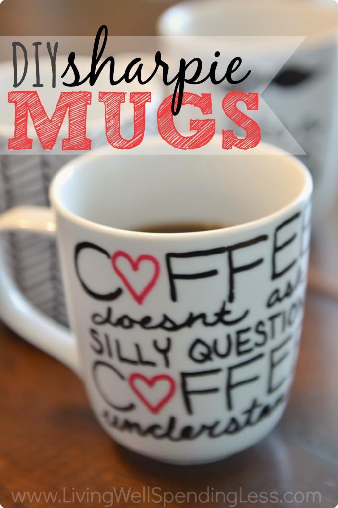 DIY Mug Designs  DIY Sharpie Mugs