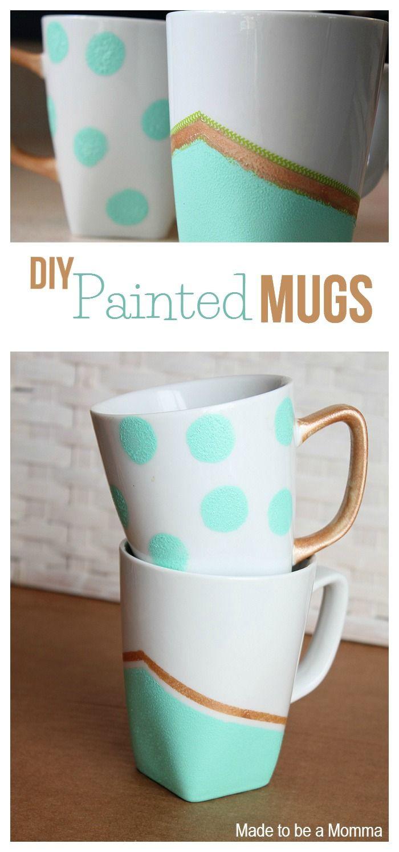 DIY Mug Designs  DIY Projects Adorable Mugs Pretty Designs