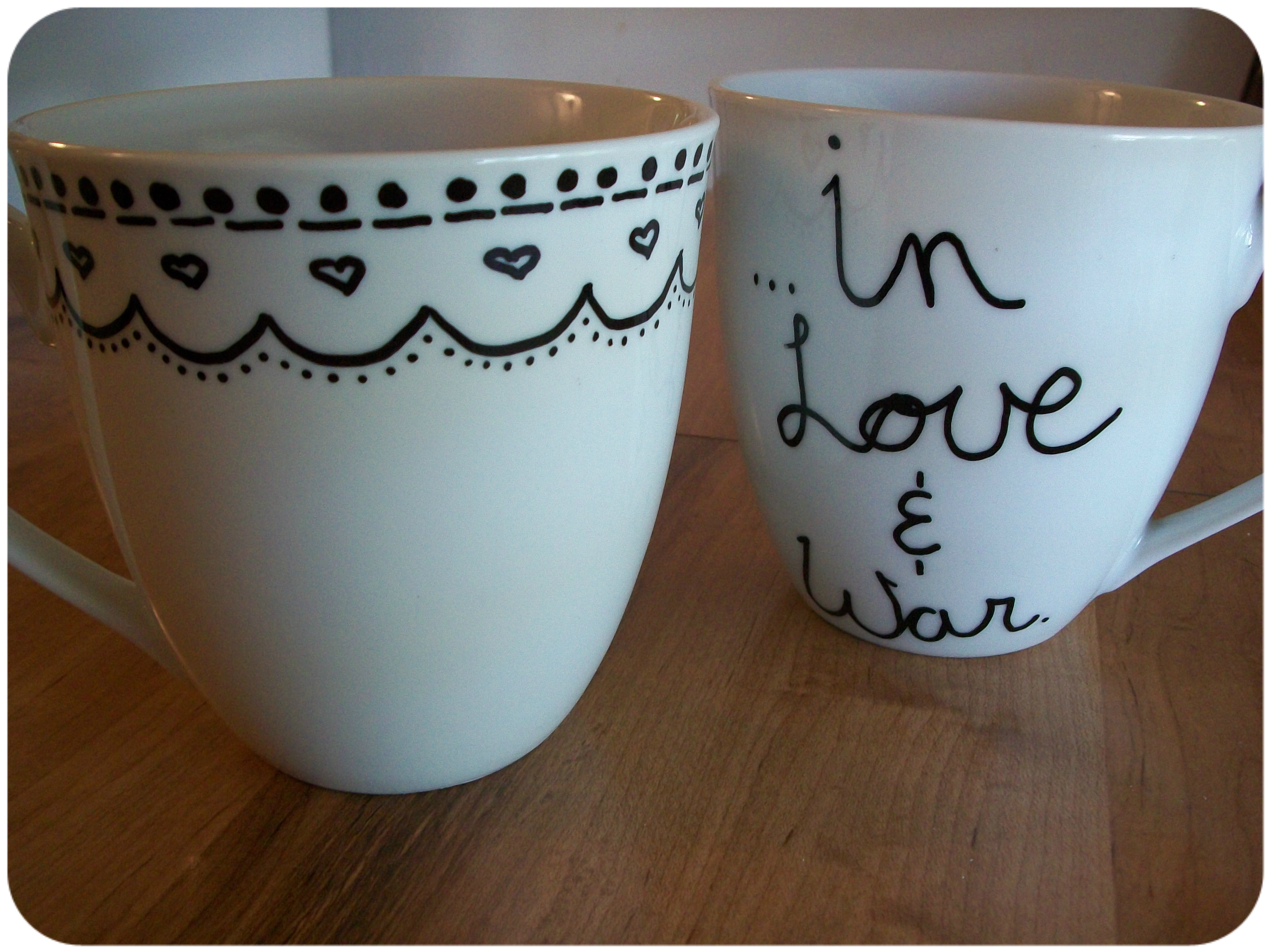 DIY Mug Designs  DIY Sharpie Mug