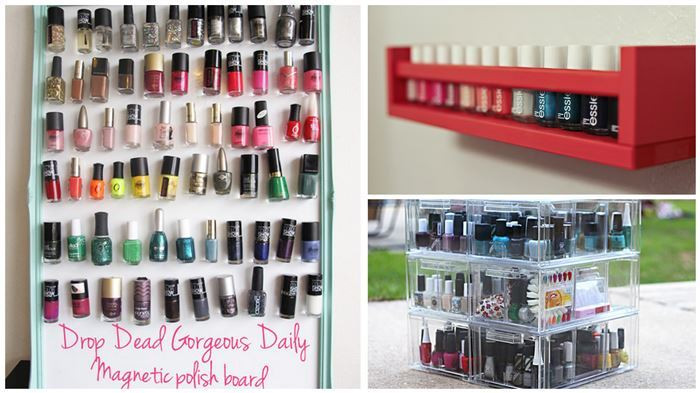 Best ideas about DIY Nail Polish Organization . Save or Pin Clever DIY Nail Polish Storage Ideas Now.