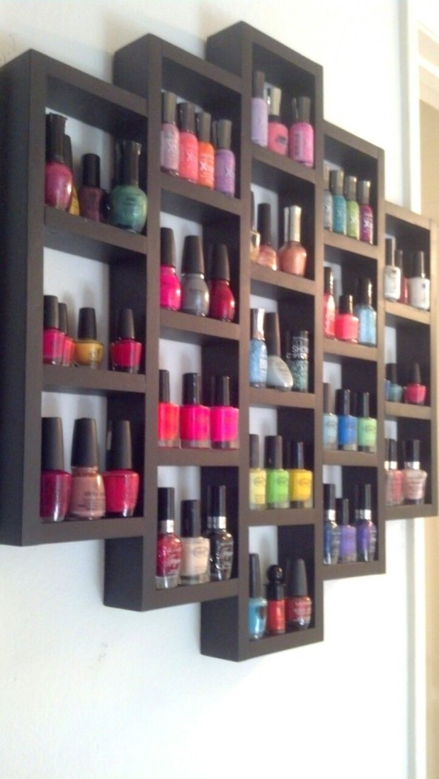 Best ideas about DIY Nail Polish Organization . Save or Pin DIY Nail Polish Organizer Ideas Fashion Beauty News Now.