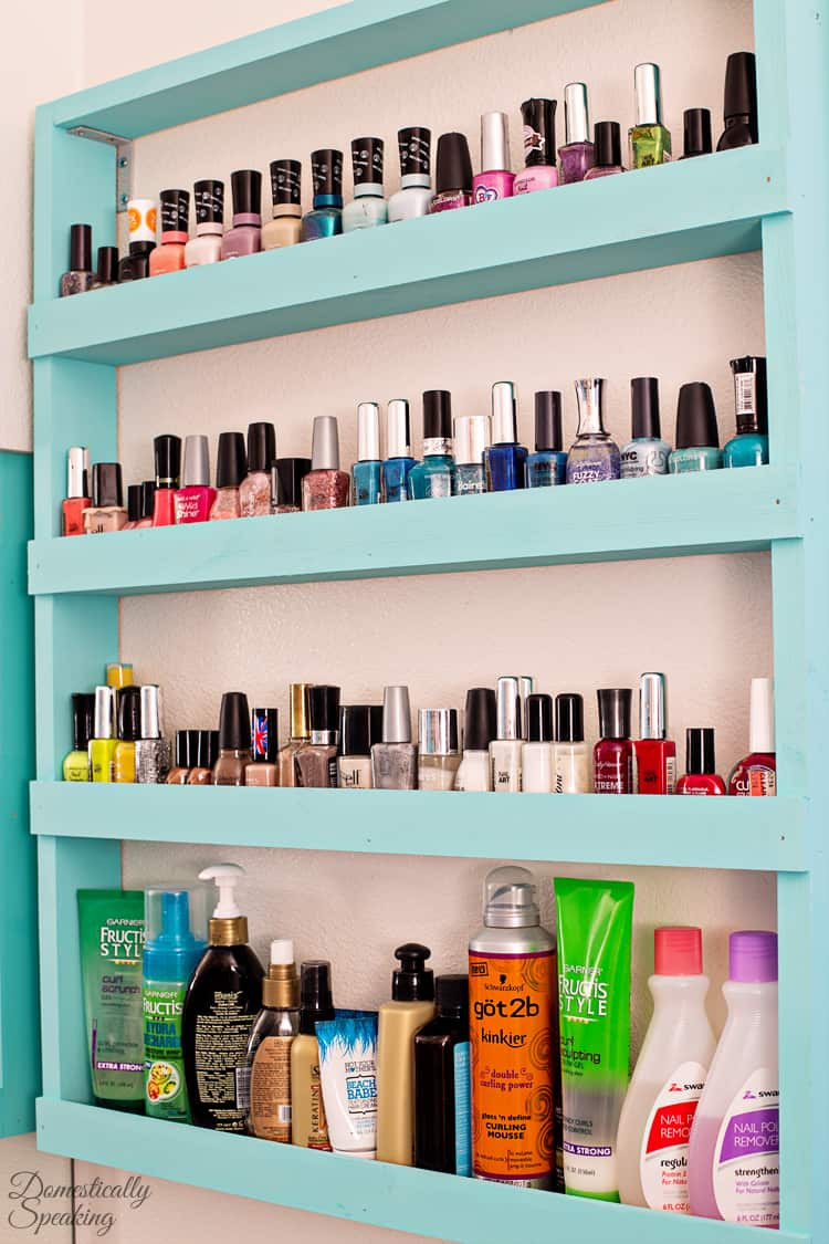 Best ideas about DIY Nail Polish Organization . Save or Pin Bathroom Storage Now.