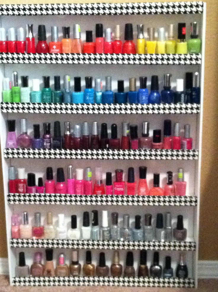 Best ideas about DIY Nail Polish Organization . Save or Pin 1000 images about Nail polish rack on Pinterest Now.