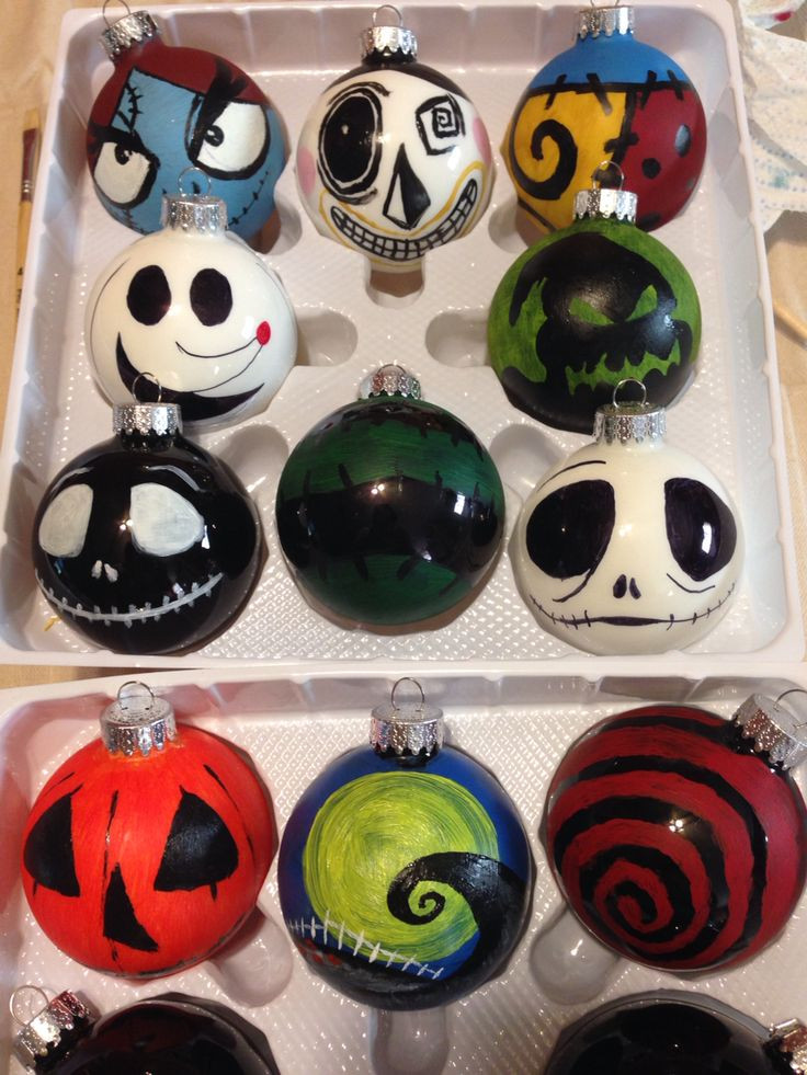 DIY Nightmare Before Christmas Decorations  Best 25 Nightmare before christmas ornaments ideas on