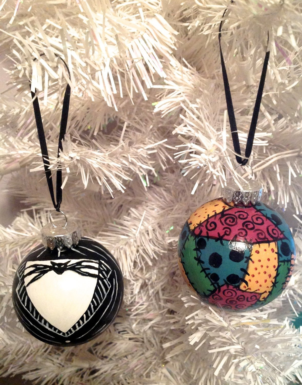 DIY Nightmare Before Christmas Decorations  Jack & Sally Ornament Set The Nightmare Before Christmas