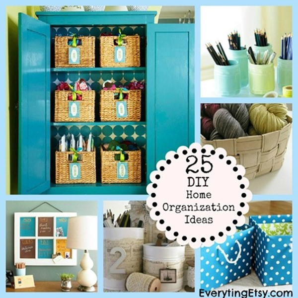 Best ideas about DIY Organization Tips . Save or Pin 10 DIY Ideas to Organize Your Desk Now.