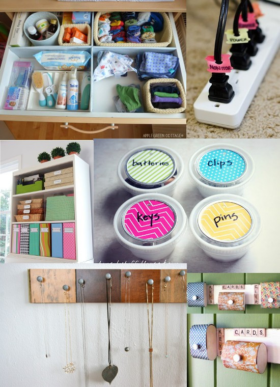 Best ideas about DIY Organization Tips . Save or Pin 35 DIY Home Organizing Ideas Now.