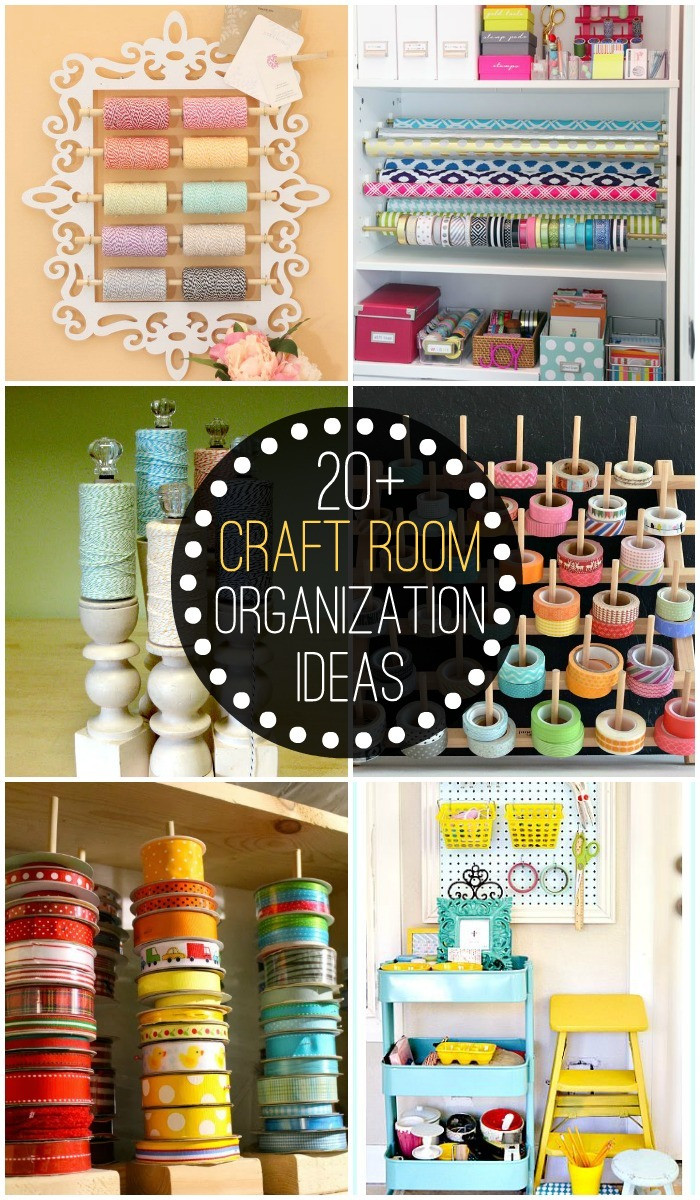 Best ideas about DIY Organization Tips . Save or Pin Craft Room Organization Ideas Now.