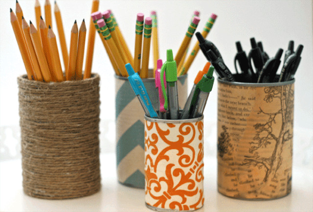 DIY Pen Organizer  How to design and make DIY pen holder