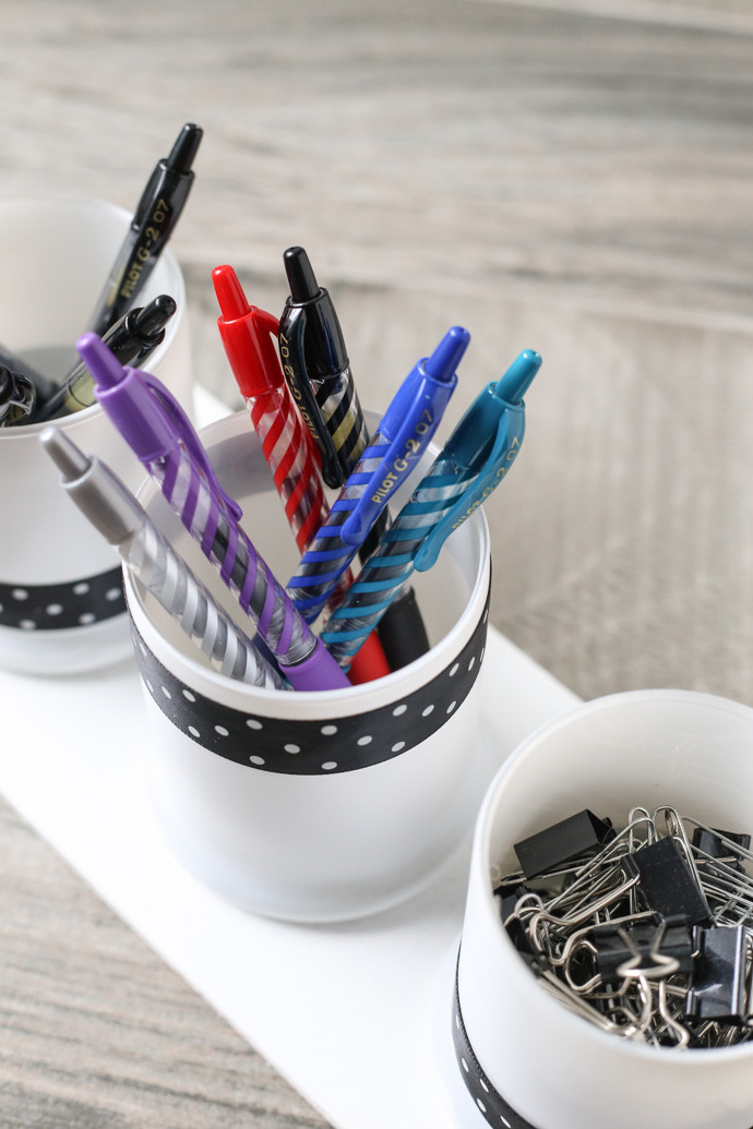 DIY Pen Organizer  DIY Pen and fice Supply Organizer Helpful Homemade