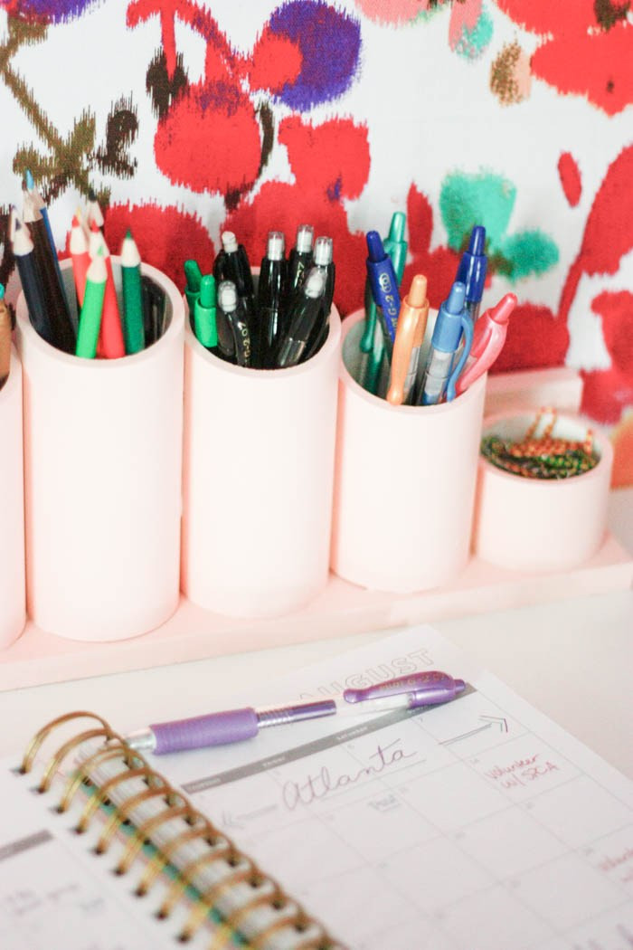 DIY Pen Organizer  DIY Pen Organizer