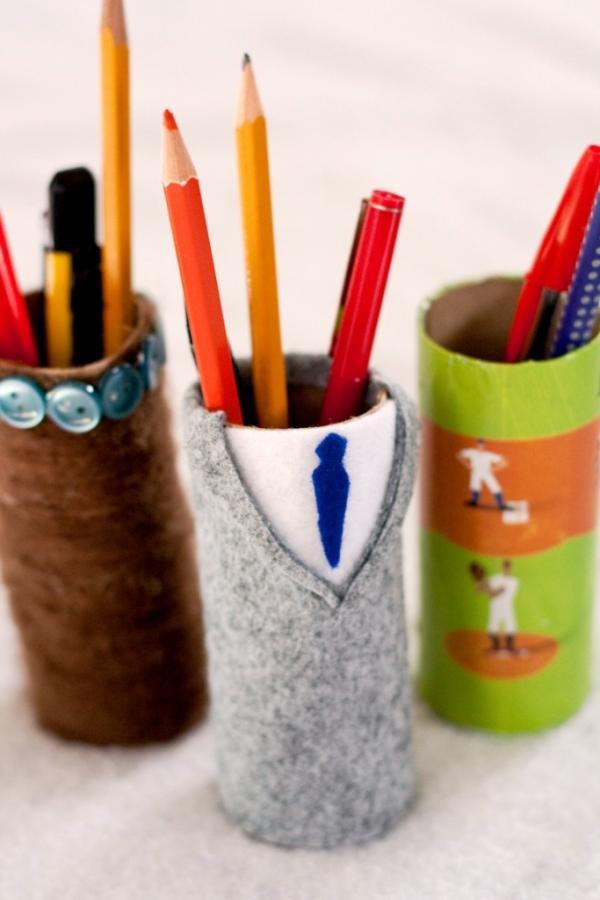 DIY Pen Organizer  15 Creative Pen Holders for Home fice Rilane