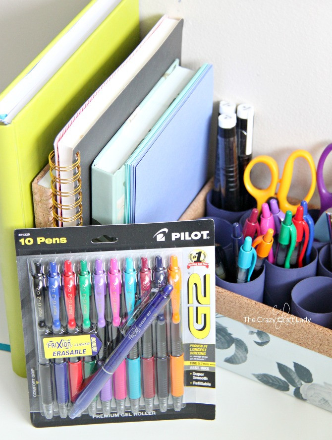 DIY Pen Organizer  Making an Upcycled DIY Pen Organizer for your Work Space