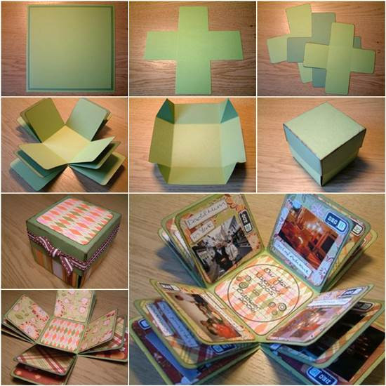 Best ideas about DIY Photo Box . Save or Pin How to DIY Creative Box Album Now.