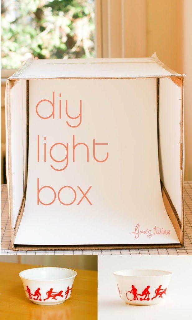 Best ideas about DIY Photo Box . Save or Pin DIY Light Box a finish fifty project Flax & Twine Now.
