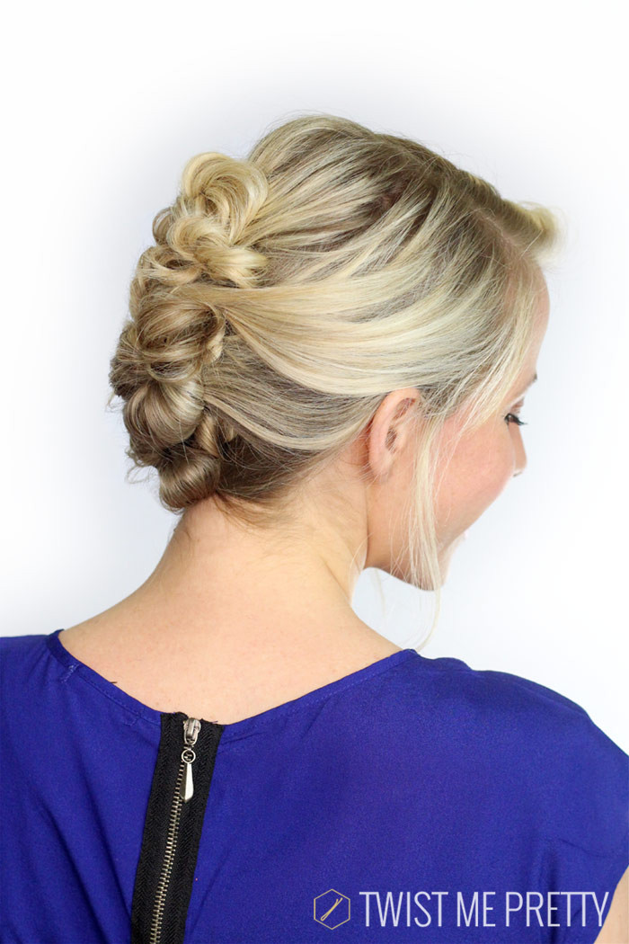 Best ideas about Diy Prom Hairstyles . Save or Pin An Elegant Twisted Updo Twist Me Pretty Now.