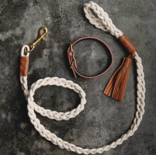 DIY Rope Dog Leash  Easy DIY Braided Dog Leash