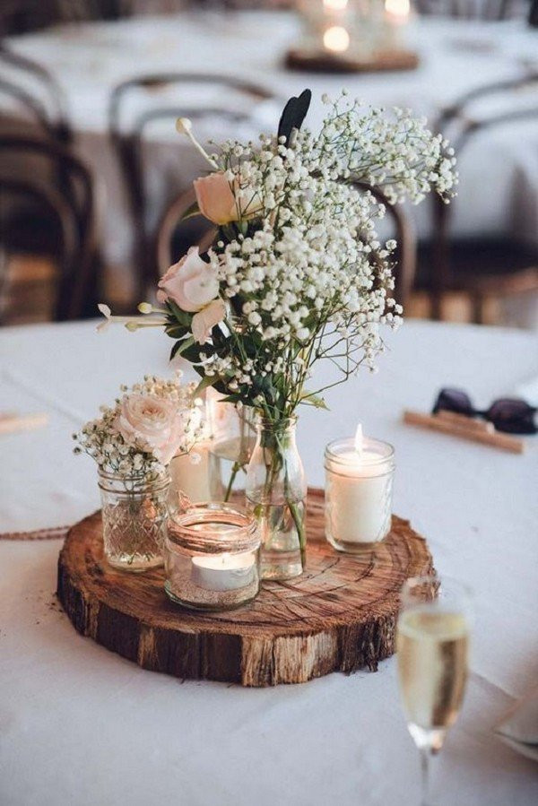 DIY Rustic Wedding Centerpieces  diy wedding centerpieces Archives Oh Best Day Ever