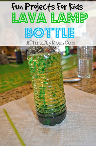 Best ideas about DIY Science Projects For Adults . Save or Pin Lava Lamp Bottle FUN SCIENCE EXPERIMENTS FOR KIDS Now.