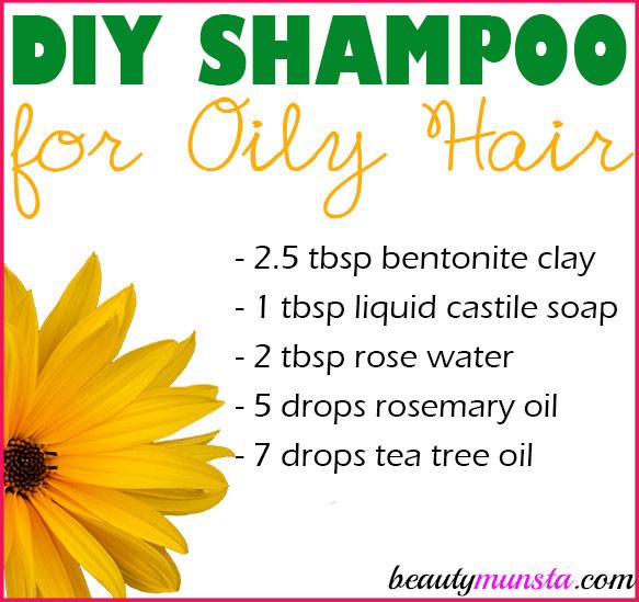 Best ideas about DIY Shampoo For Oily Hair . Save or Pin Homemade Shampoo for Oily Hair Now.