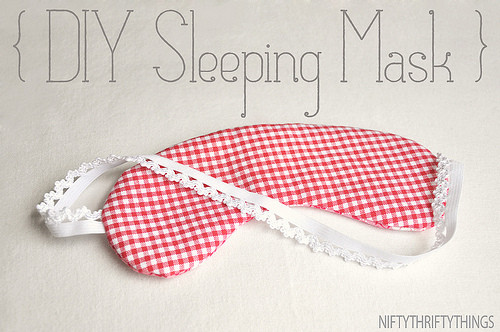 Best ideas about DIY Sleep Mask . Save or Pin DIY Gifts That Travelers Will Love Now.