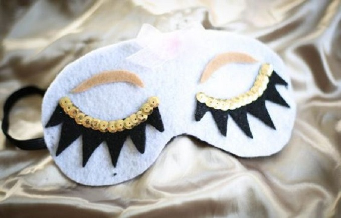 Best ideas about DIY Sleep Mask . Save or Pin 30 Ways to Make Your Own Homemade Sleep Mask • Cool Crafts Now.