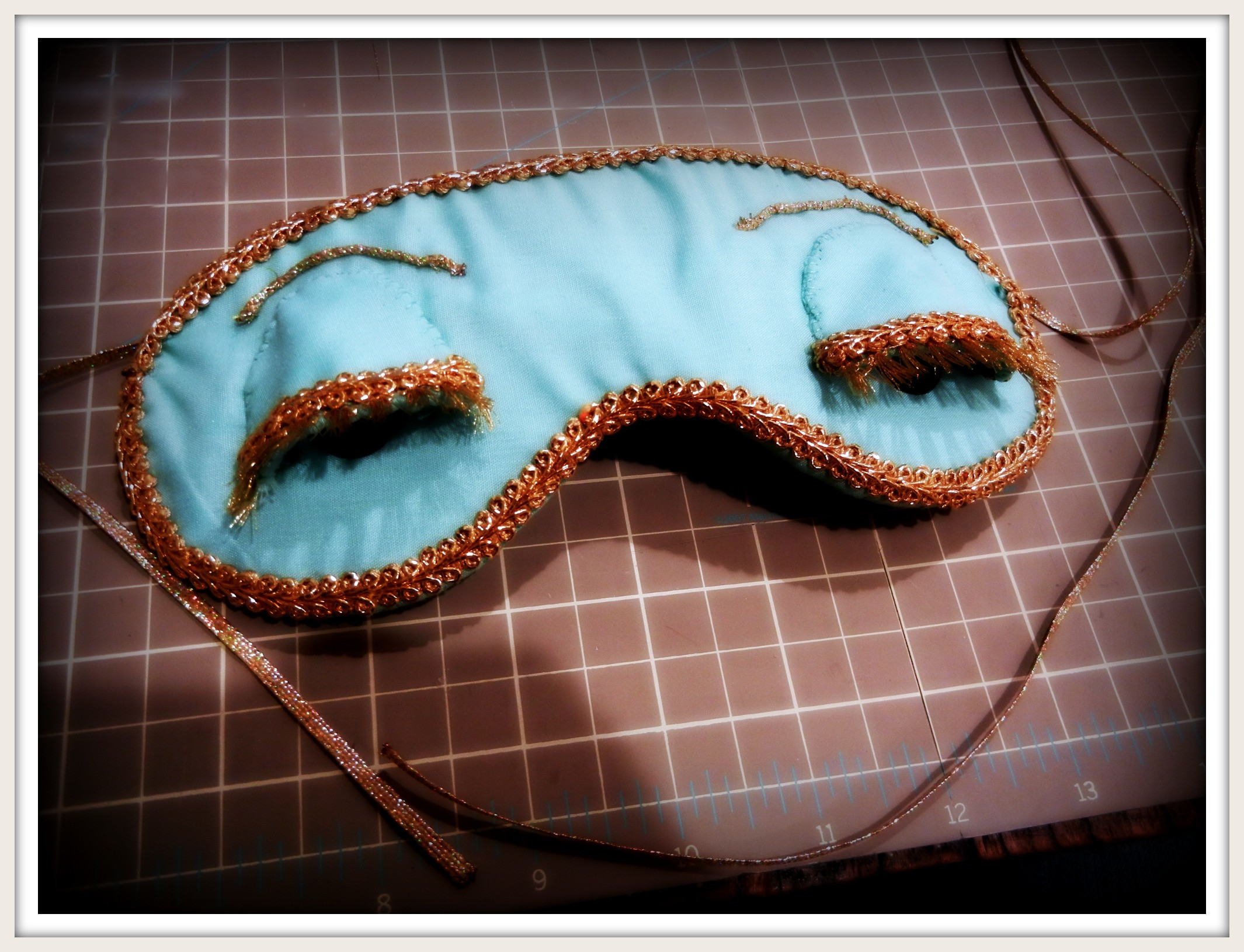 Best ideas about DIY Sleep Mask . Save or Pin DIY Holly Golightly Sleep Mask Now.