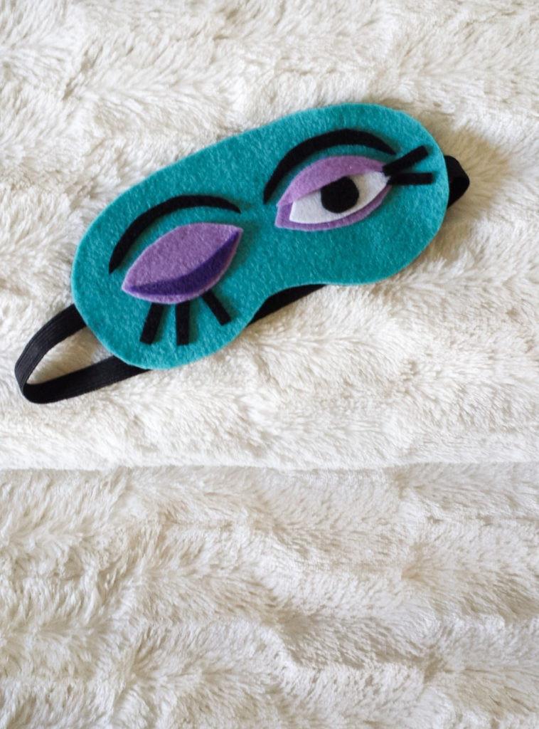 Best ideas about DIY Sleep Mask . Save or Pin Sleep Mask Diy Now.
