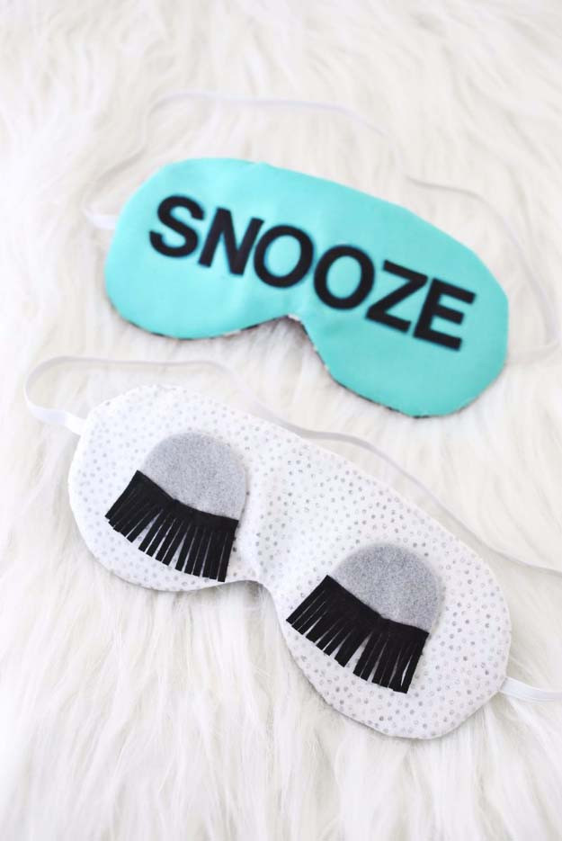 Best ideas about DIY Sleep Mask . Save or Pin Awesome DIY Gift Ideas Mom and Dad Will Love Now.